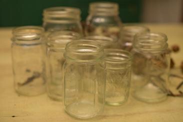 Mason Jars ~ half pint, pint, quart