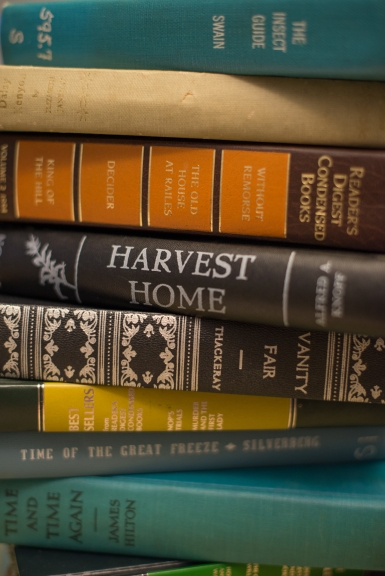 Hardcover Books in Many Colors
