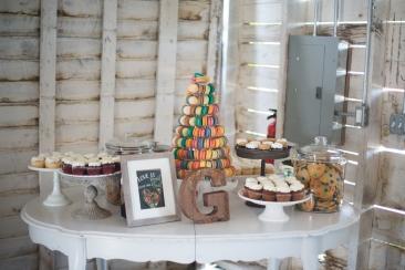 Pedestal Plates and Goody Jars