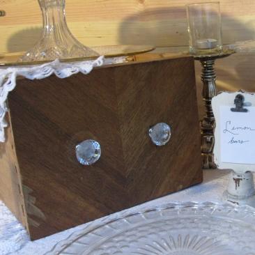 Old drawers make great displays