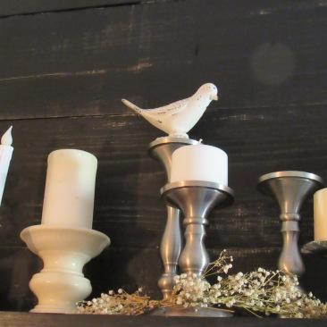 Candlesticks- Metal, Wood & Porcelain